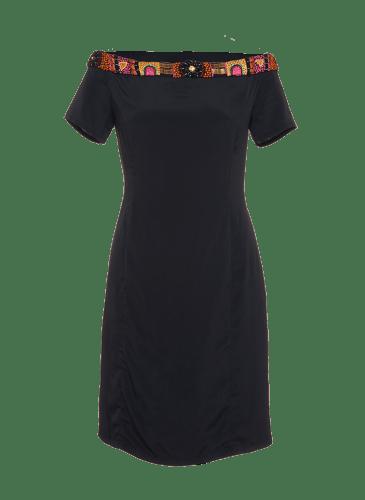 SURKANA Vestido negro mc PVP. 79,90€