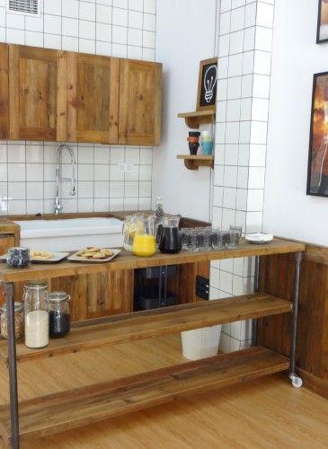 Cocina Lush Spa Madrid