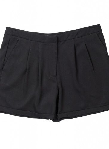 short negro básico pantalón Surkana