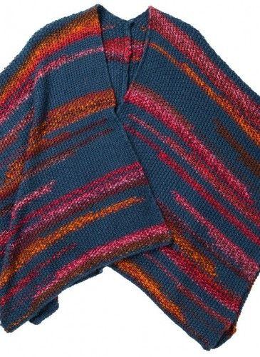 poncho multicolor Surkana
