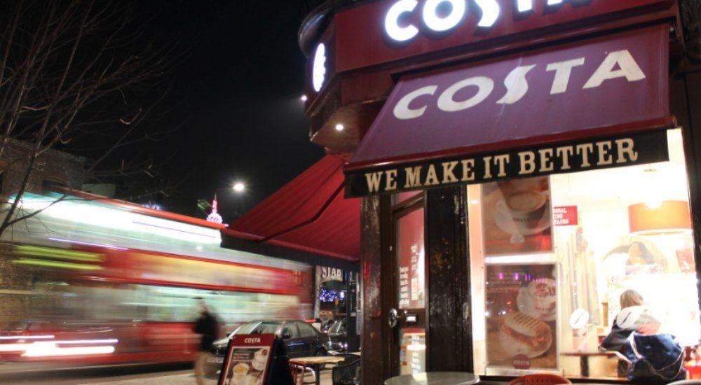 Costa Coffee llegó a España