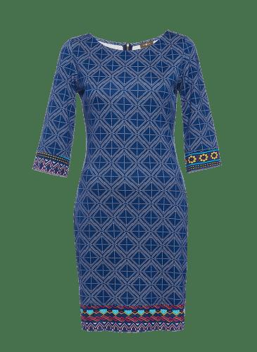 SURKANA Vestido azul manga francesa PVP. 49,90€