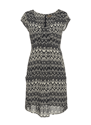 SURKANA Vestido corto blanco y negro PVP.54,90 €
