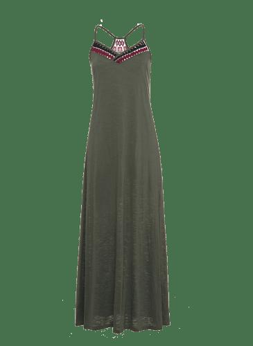 SURKANA Vestido largo verde PVP. 54,90 €