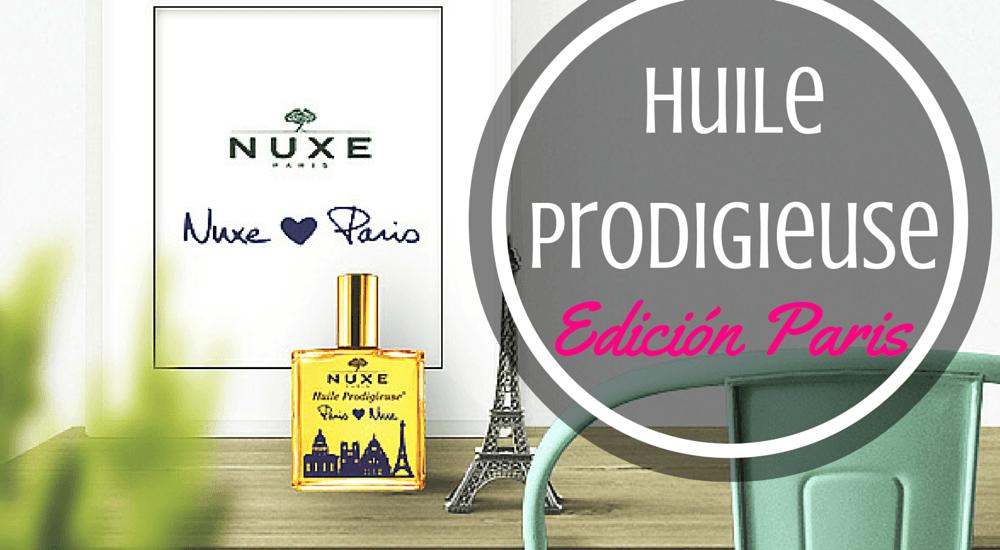 La edición Parisina de Huile Prodigieuse