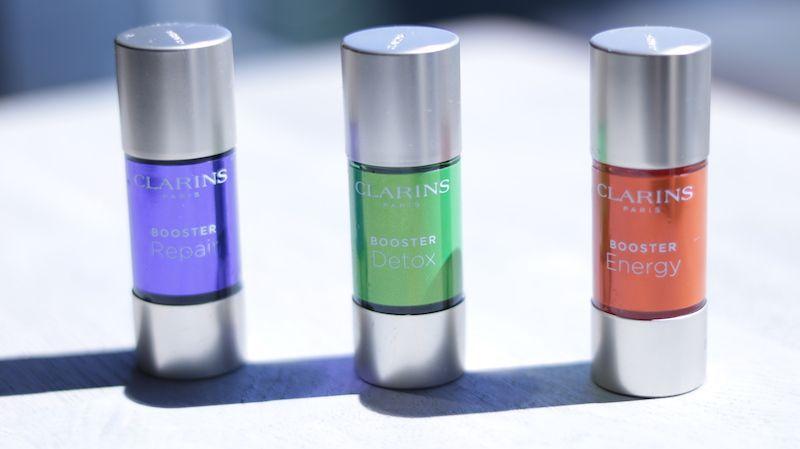 Boosters de Clarins, cura de belleza específica para las necesidades de tu piel
