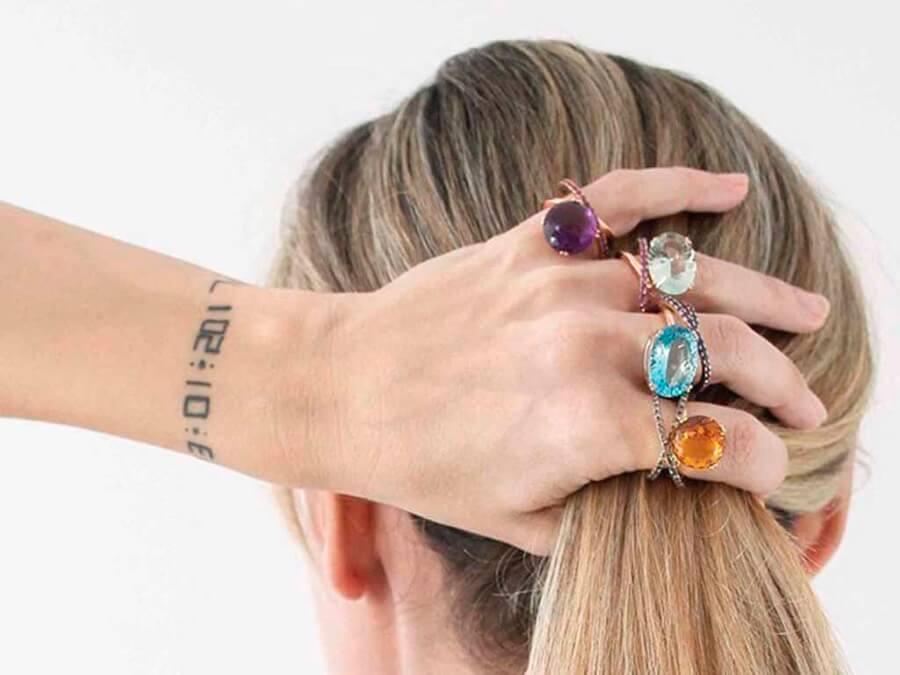 ¿Cómo combinar tus anillos?